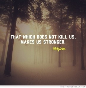 makes us stronger